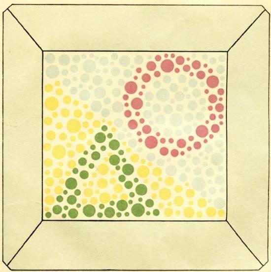 Таблицы рабкина для исследования зрения на цветовосприятие – тест на дальтонизм с большими картинками и с ответами онлайн