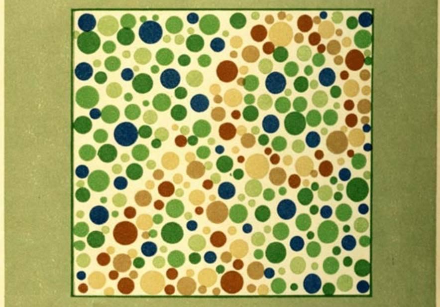 Тест на дальтонизм и цветовосприятие онлайн