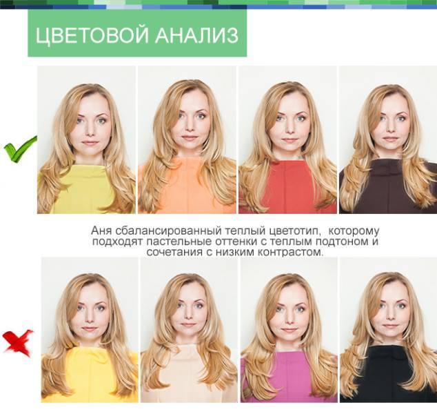Определите свой цветотип: онлайн по фото, выбор из 12 варинтов!