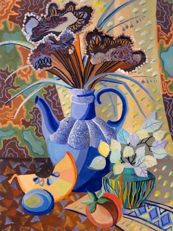 Цвет в декоративно-прикладном искусства