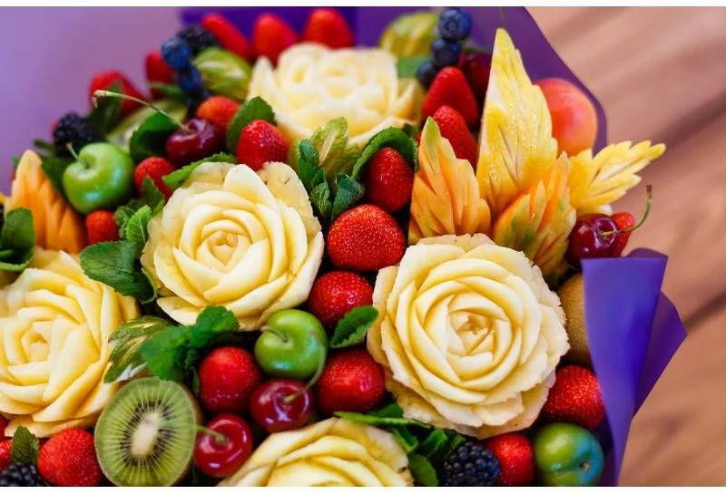 Карвинг из овощей и фруктов: инструкция для начинающих (пошагово с фото)