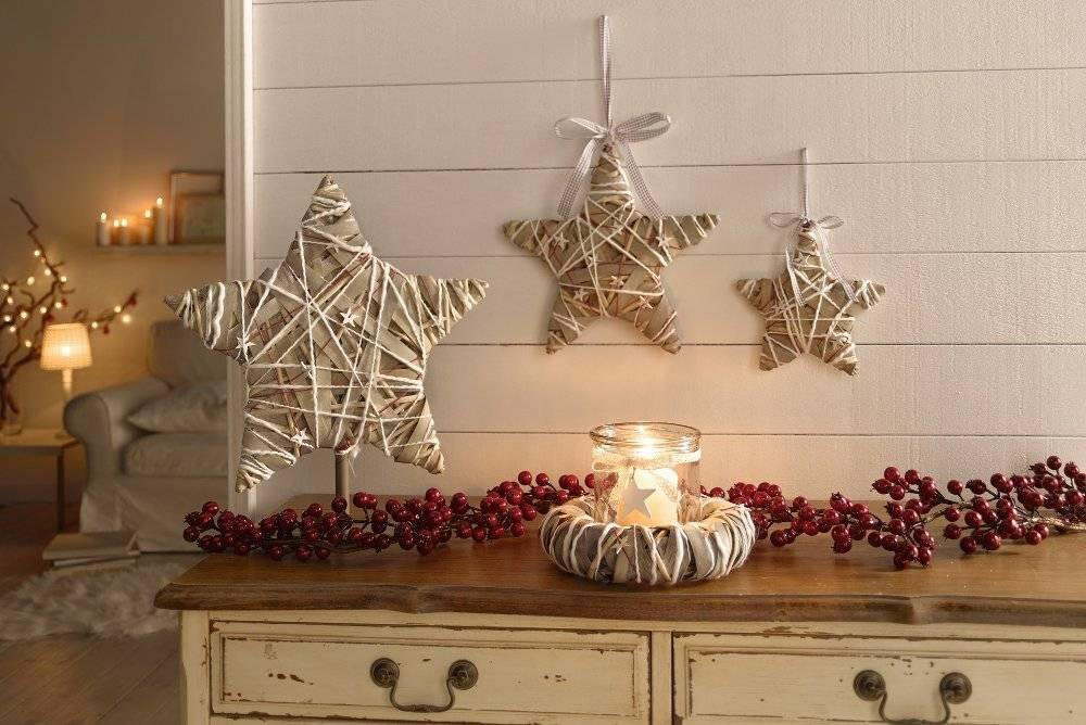 Рождественские украшения дома и сада своими руками