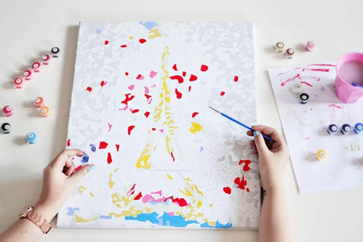 Картины по номерам: как правильно рисовать?