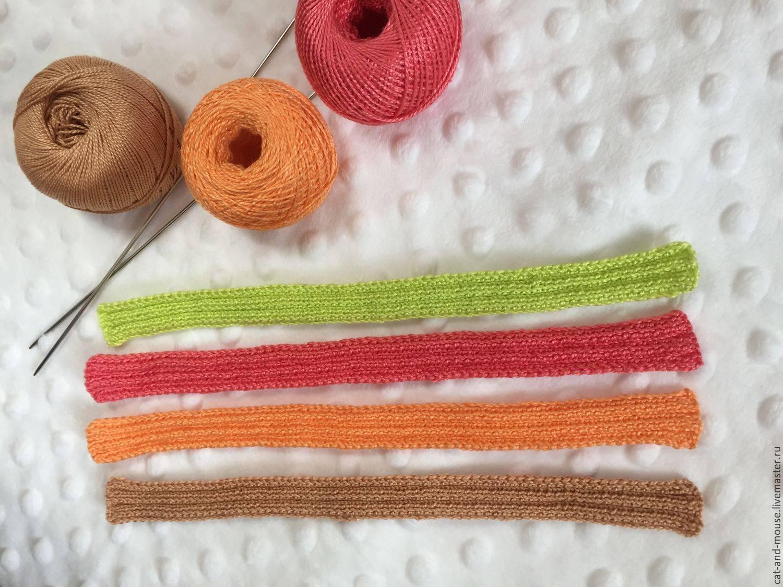Как закончить вязание спицами — последний ряд шарфа
