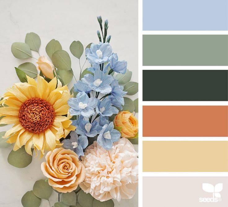Варианты цветовых сочетаний в интерьере кухни