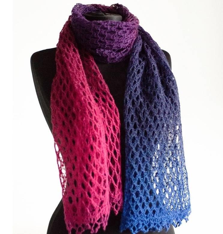 Учимся заканчивать вязание шарфа