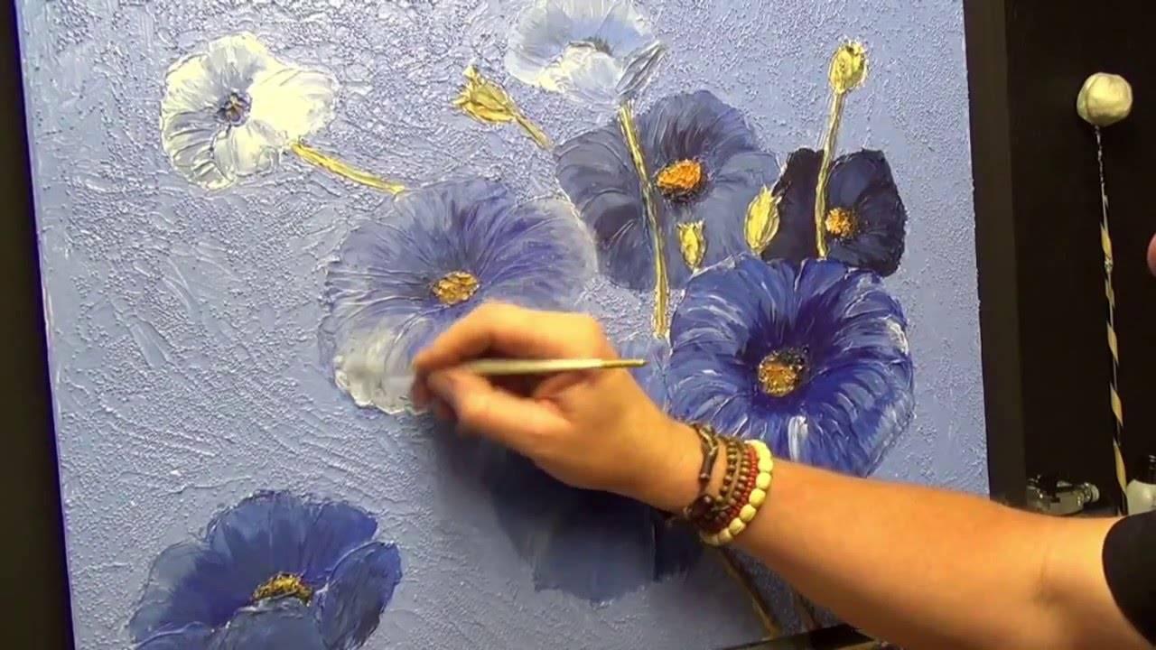 Я не покупаю дорогие картины, а делаю жидкую краску сама и рисую: пошаговая инструкция