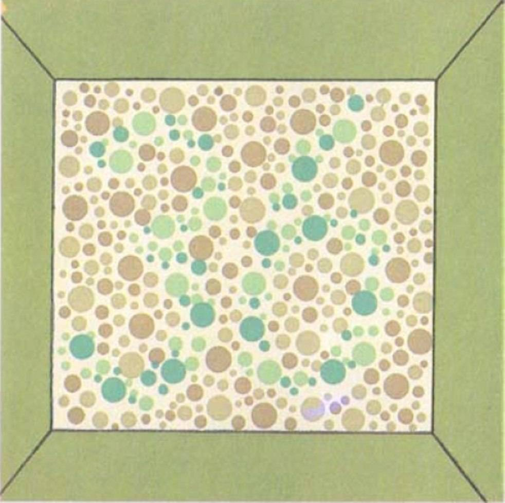 """Тест на цветовосприятие по таблицам рабкина - """"здоровое око"""""""