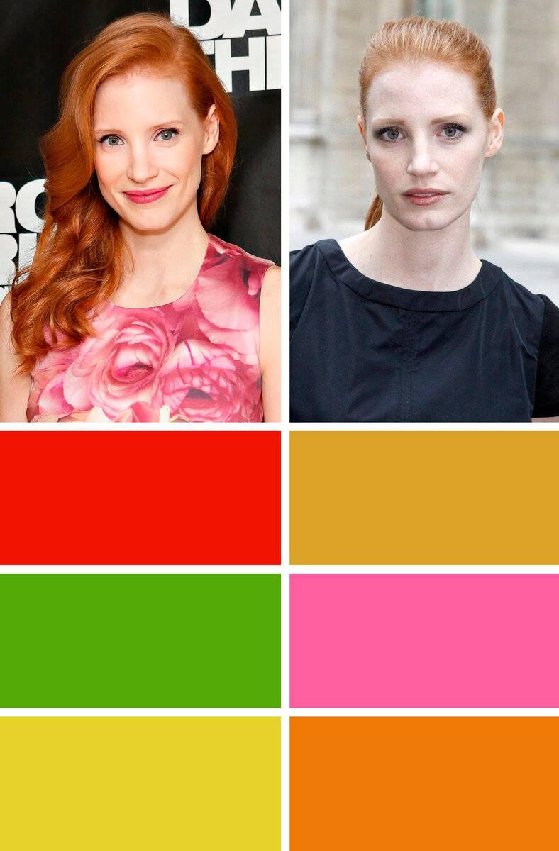 Как подобрать цвет одежды по цветовому типу внешности