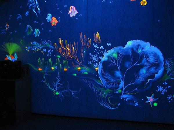 Флуоресцентная краска: свойства и особенности применения