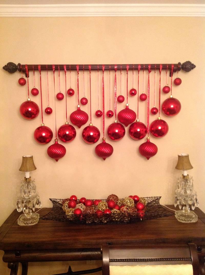 Простой рождественский декор для дома своими руками