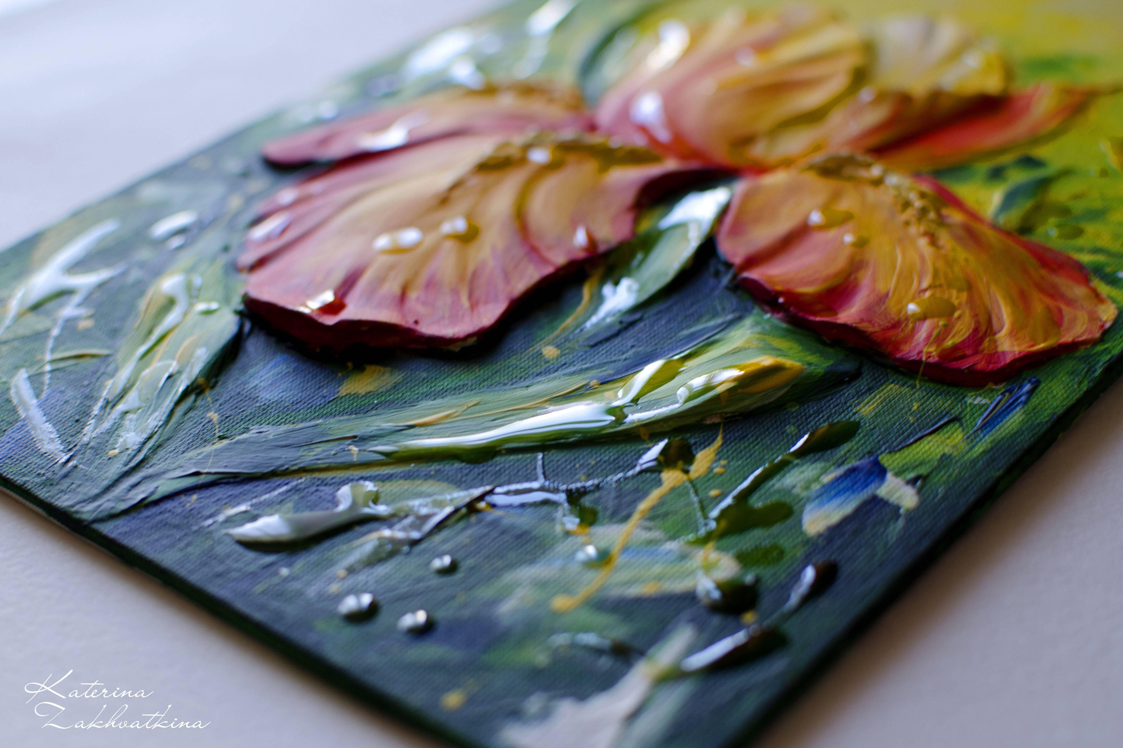 Акриловая живопись: простота акварели, возможности масла | art life виктории латка