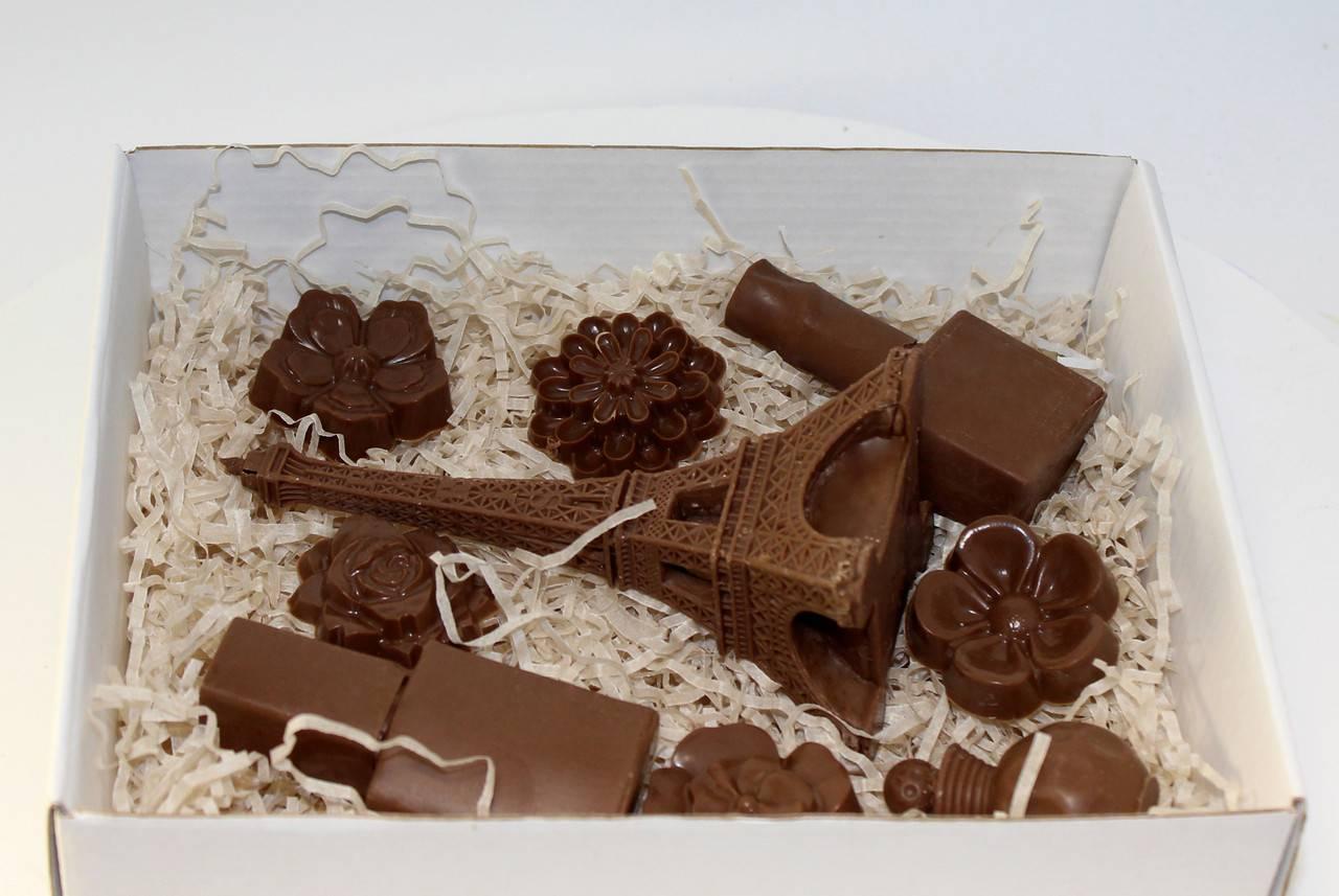 Шоколадные фигурки: пошаговая инструкция с разными формами