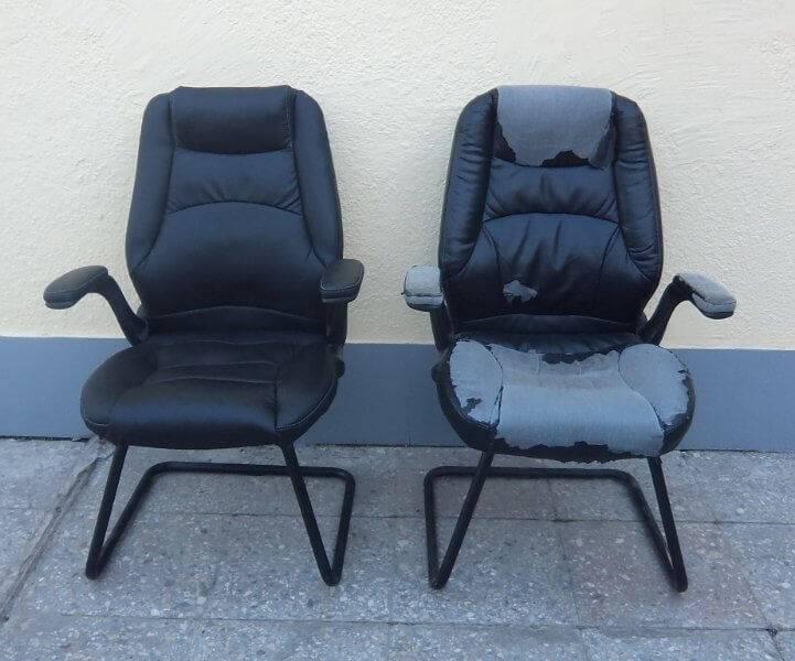 Особенности перетяжки офисного кресла своими руками: инструкция и рекомендации