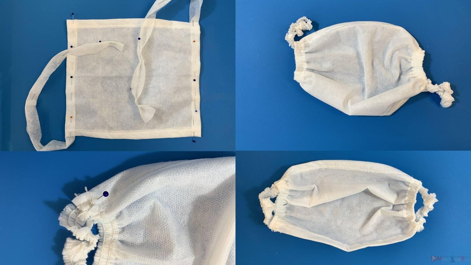 10 вариантов самостоятельного пошива многоразовых защитных масок для лица от вирусов и бактерий
