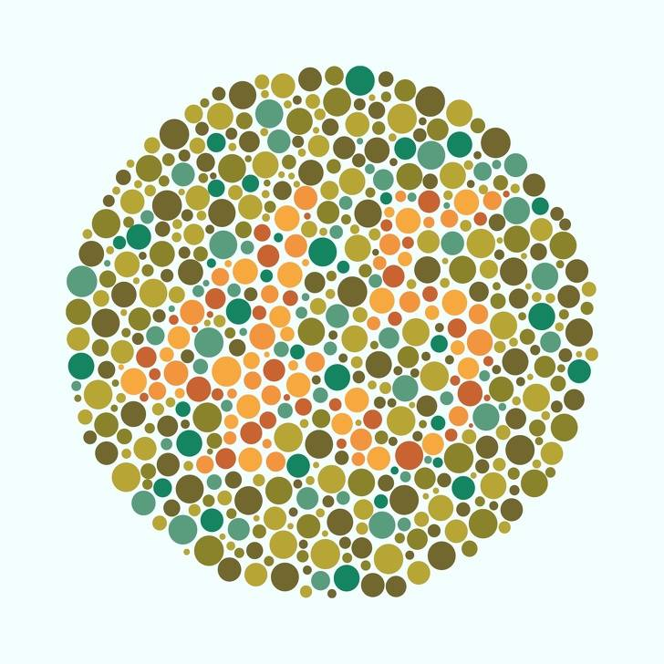 Таблица рабкина с ответами – тест для зрения на цветовосприятие