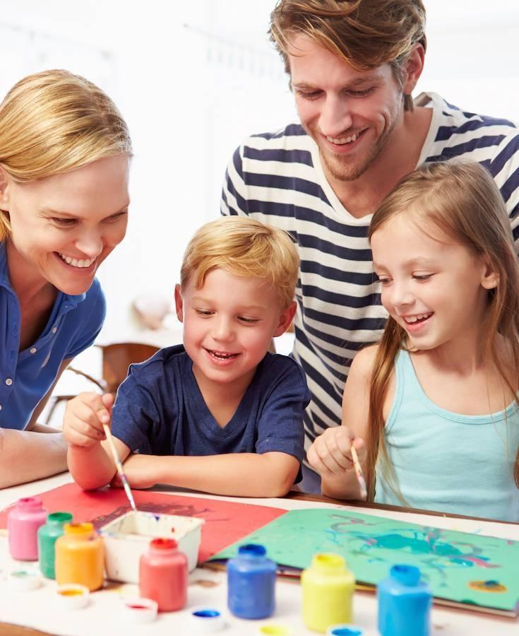 Семейные хобби: для детей и взрослых