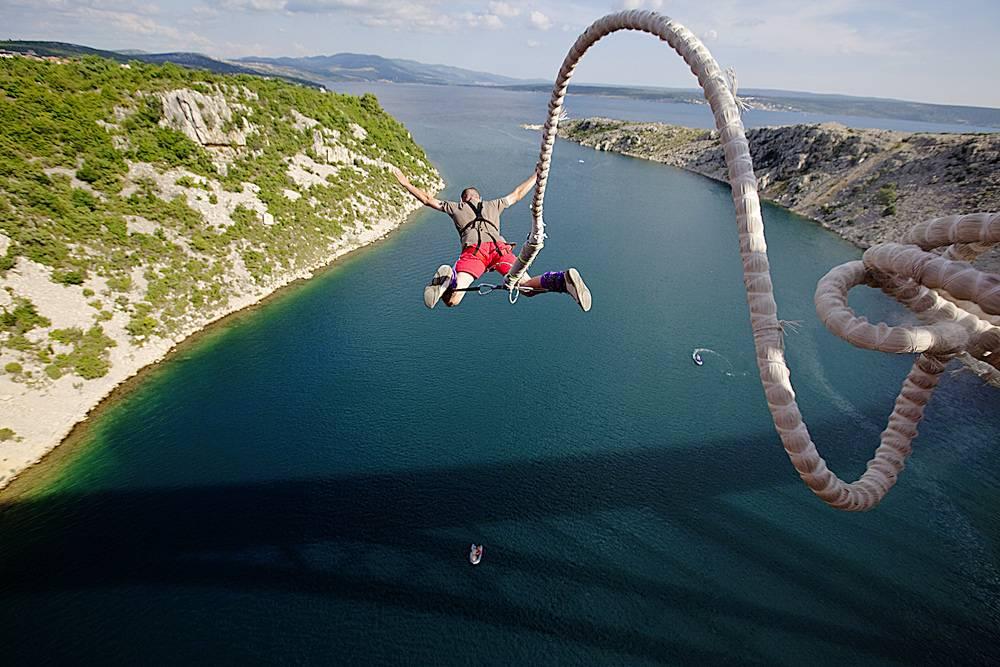 Бизнес на прыжках с веревкой (банджи и роуп джампинг) » деньгодел