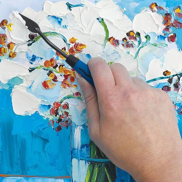 Картины акрилом, как рисовать акриловыми красками на холсте, рисование жидким акрилом
