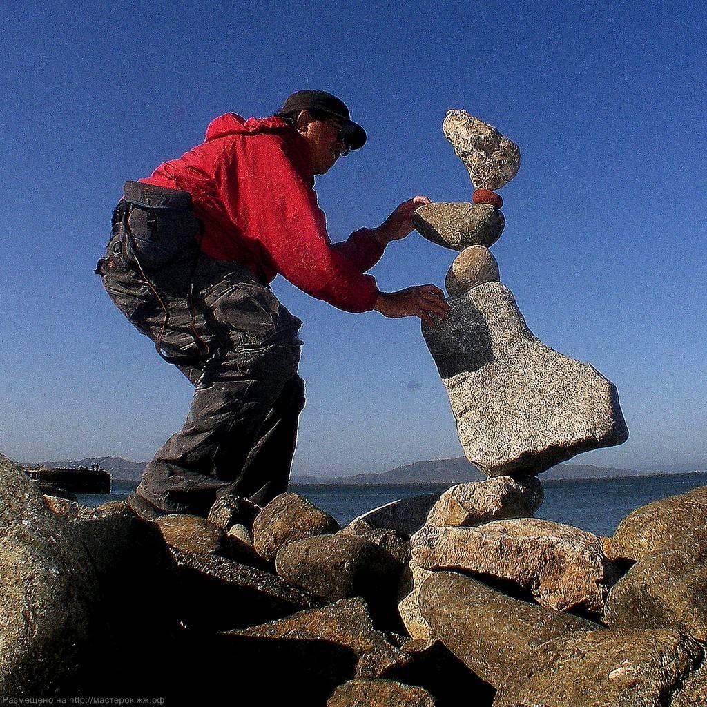 Балансировка камней как хобби и увлечение