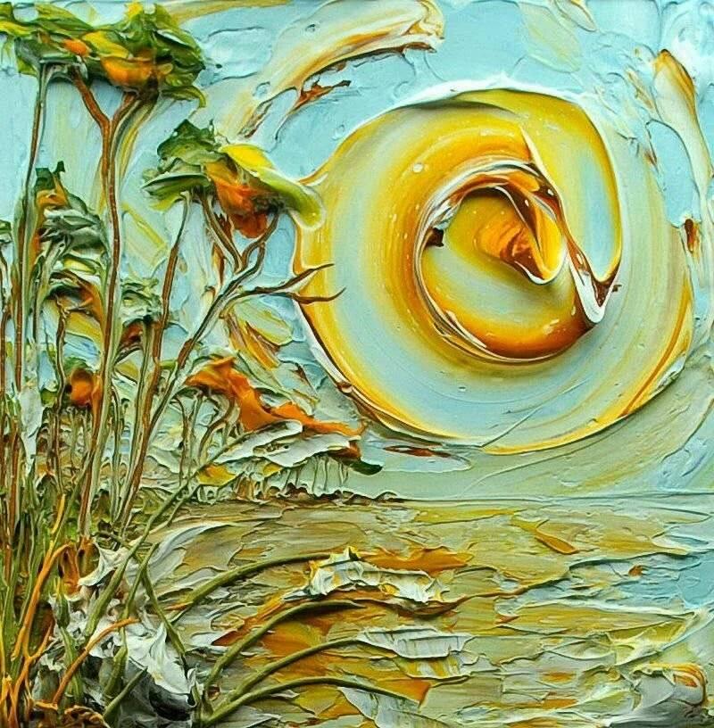 Акриловая живопись: простота акварели, возможности масла