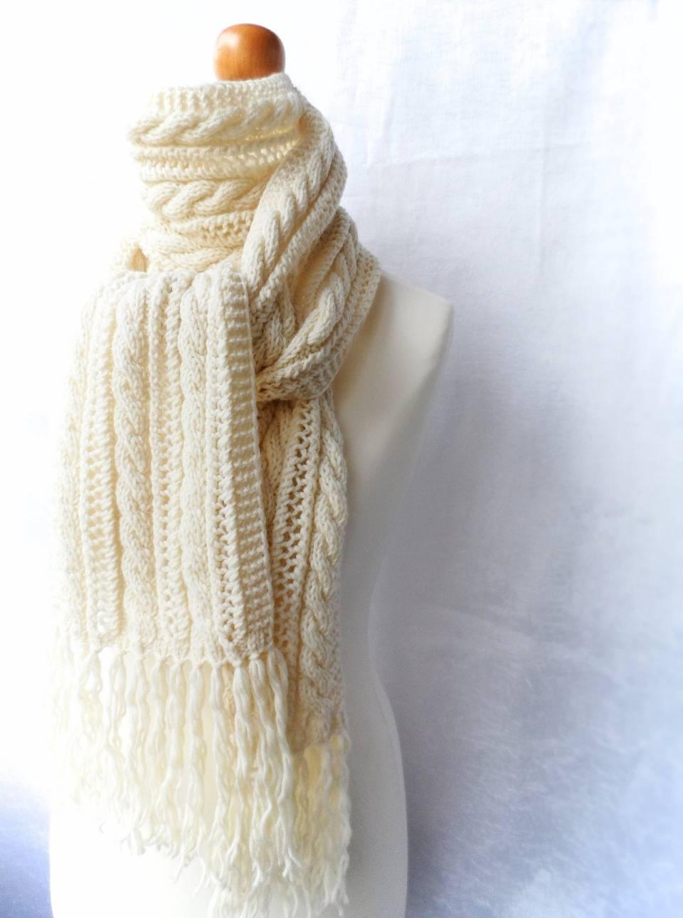Шарф резинкой спицами, подборка схем и описаний для вязания шарфов, вязание для женщин