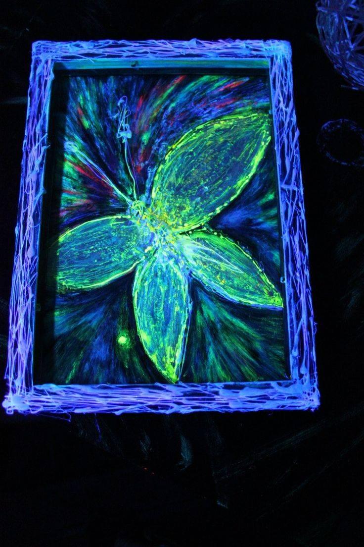Особенности флуоресцентной краски и сфера ее применения