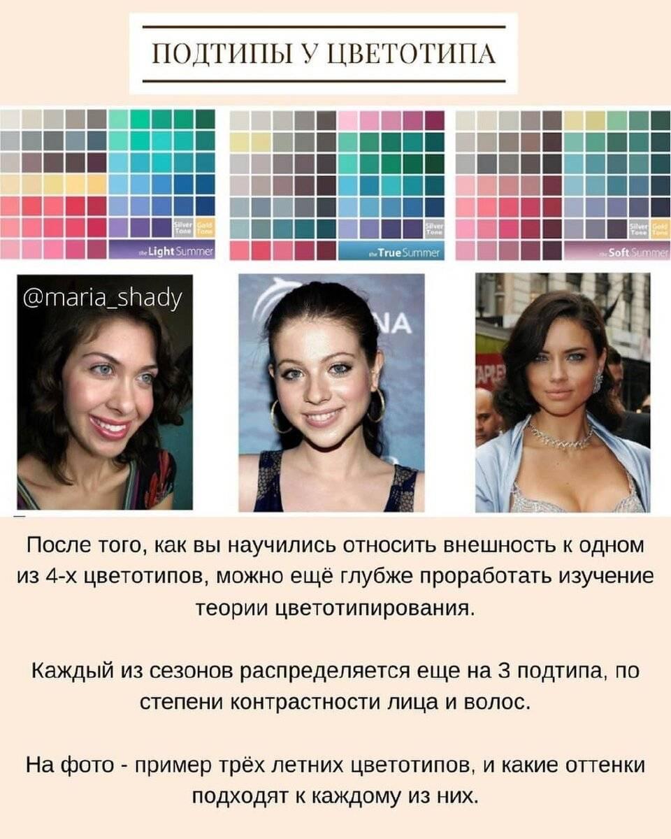Как определить свой цветотип: практические советы по выбору гардероба