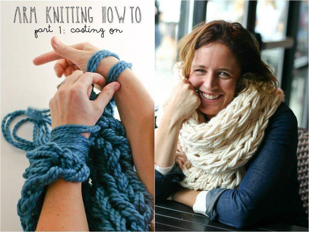 Пошаговая инструкция, как связать шарфик начинающему