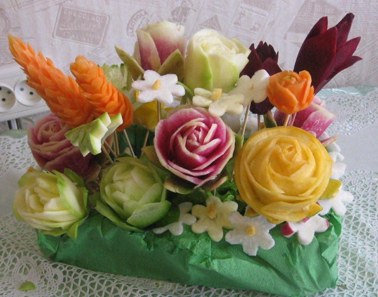 Искусство карвинга из овощей и фруктов. мастер карвинга кристина вероника