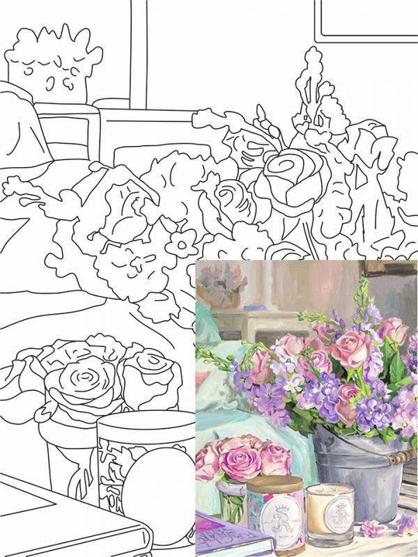 Материалы и инструменты рисование и живопись делюсь опытом работы с рисунками по номерам бумага краска