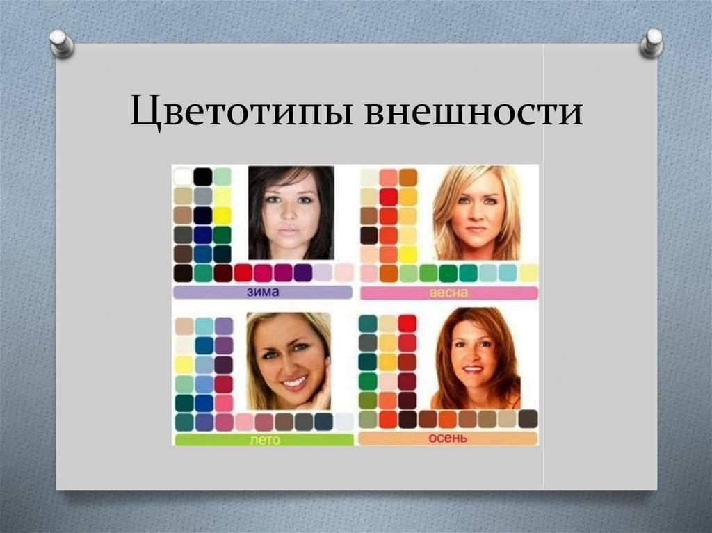 Как определить цветотип внешности: практические советы
