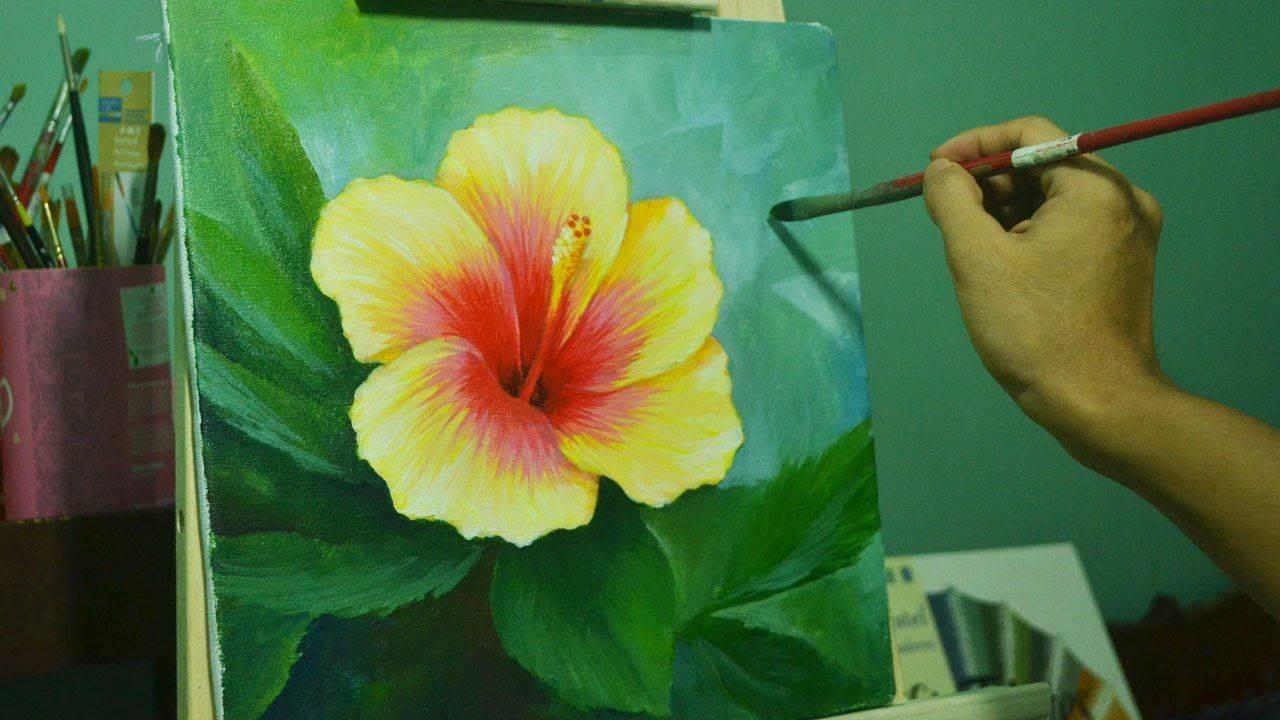 Рисование картин акриловыми красками: советы для начинающих, пошаговая техника | в мире краски
