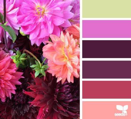 Гармоничные сочетания цветов, цветовые комбинации, противоположная, аналогичная, монохромная, противоположно-разделённая, треугольная - color2.ru