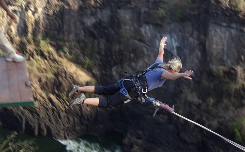 Роуп и банджи. рекордные прыжки и громкие трагедии