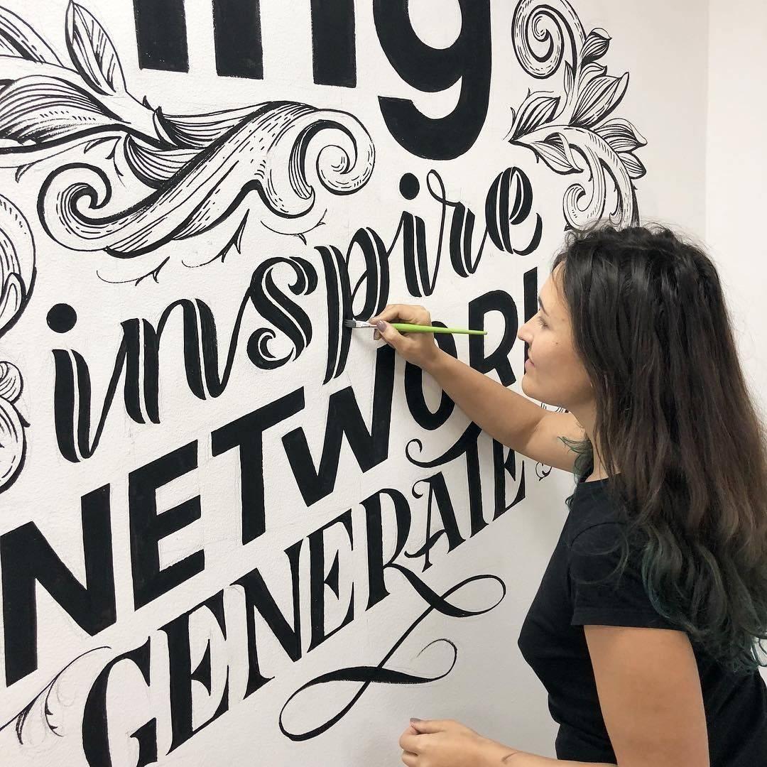 Леттеринг для начинающих – как освоить современную каллиграфию | megapoisk.com