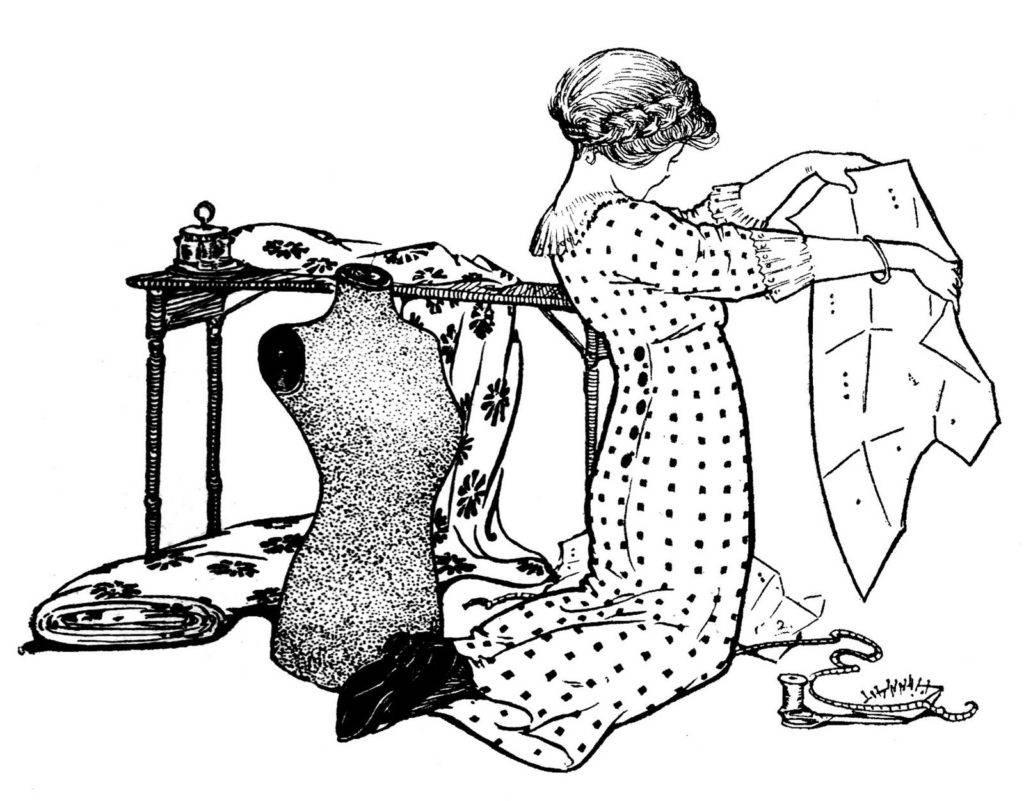 Основы кройки и шитья для начинающих - клуб рукоделия три иголки