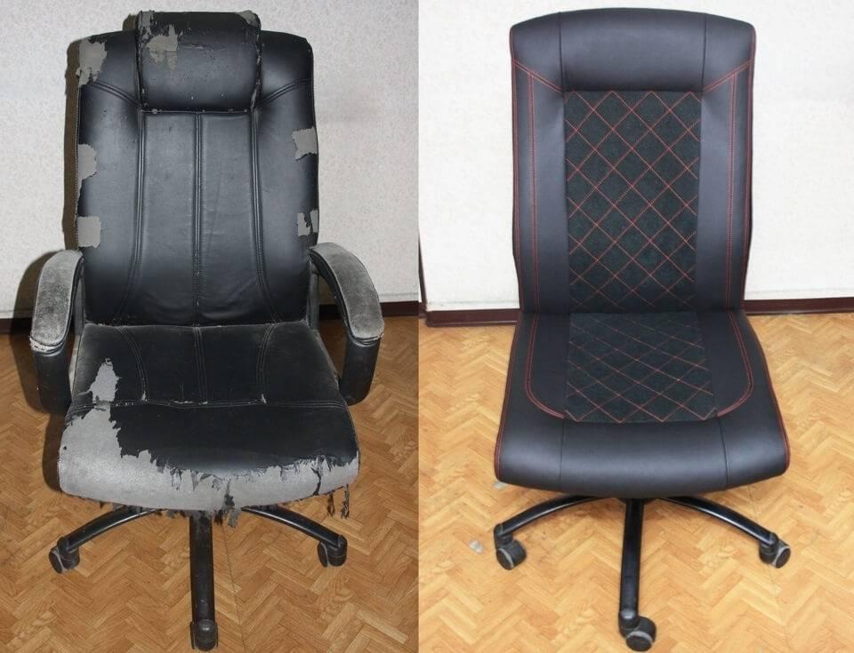 Какой тканью перетянуть компьютерное кресло?