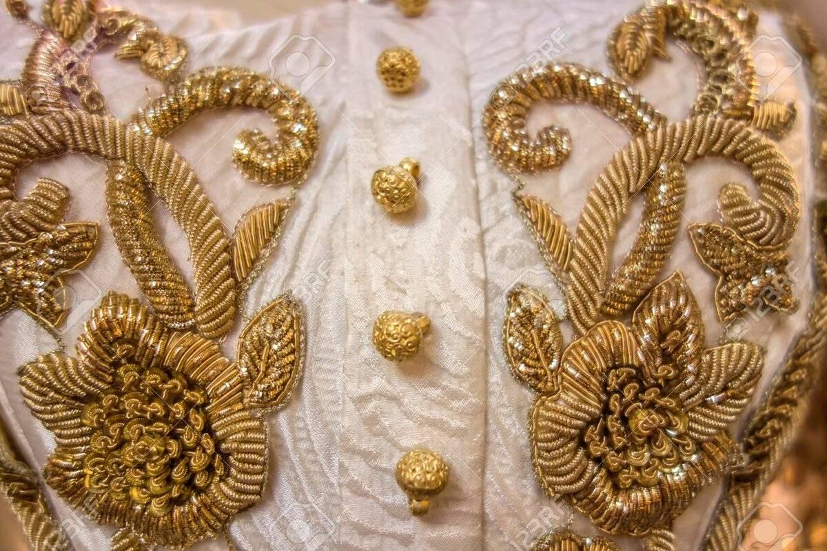 Золотое шитье как хобби и увлечение