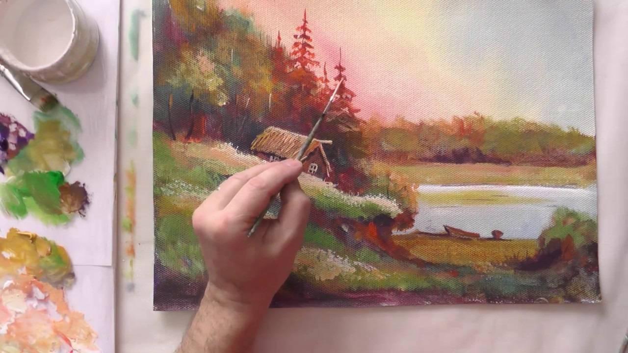 Как рисовать масляными красками: пособие для начинающих