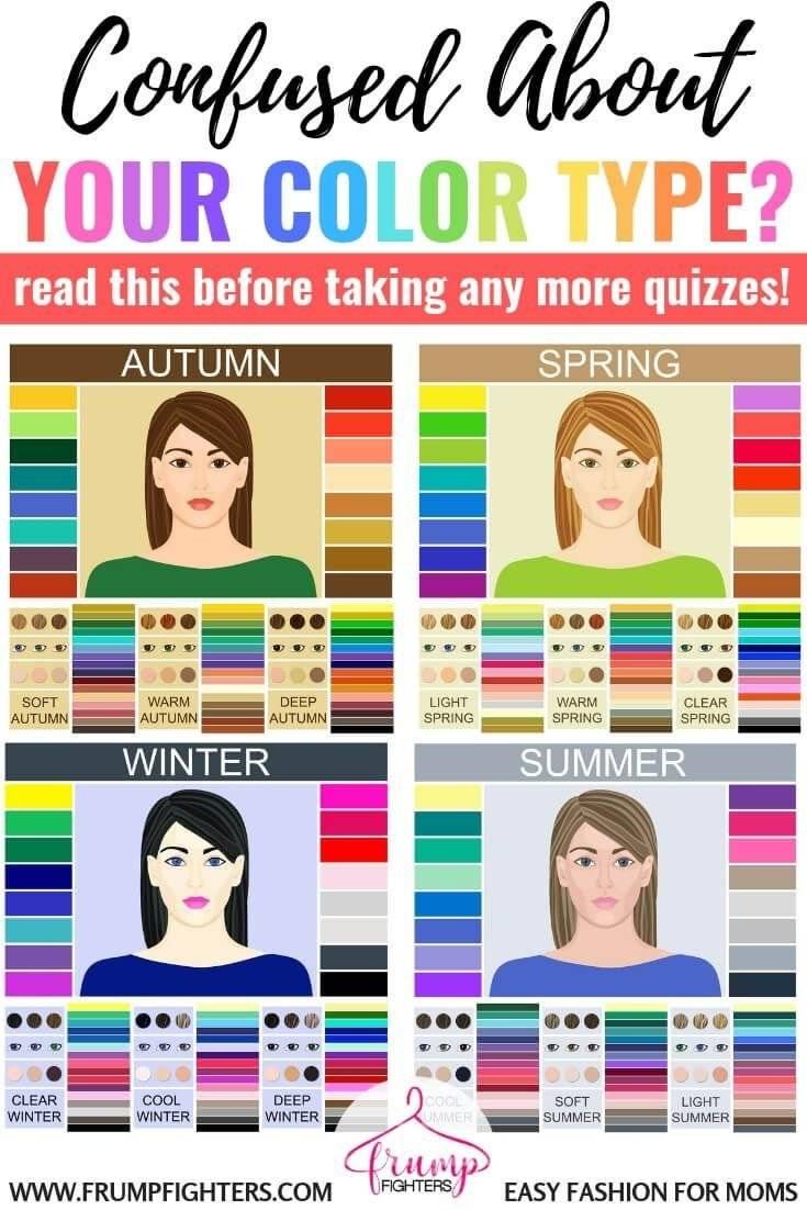 Как определить свой цветотип? какими бывают цветотипы?