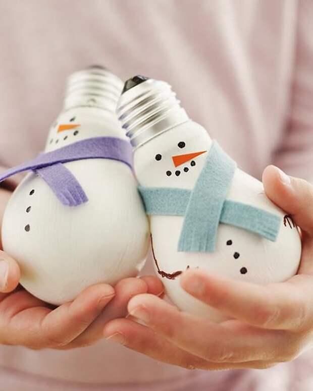 Елочные игрушки своими руками: поделки для детей