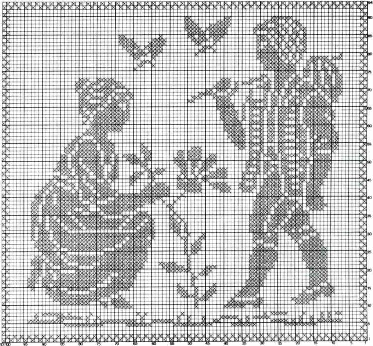 Филейное вязание крючком - пошаговые мастер-классы с описанием схем вязания
