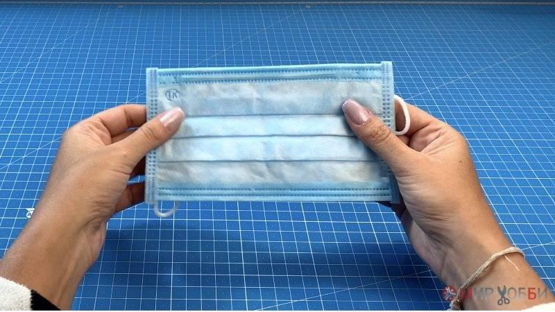 Как сшить маску медицинскую своими руками: выкройки
