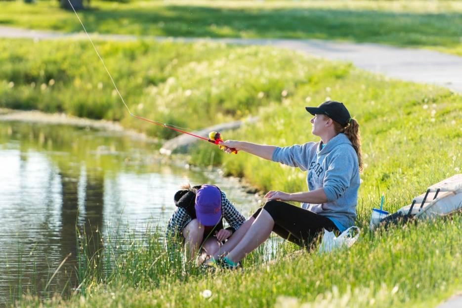 Лучшее хобби - это рыбалка