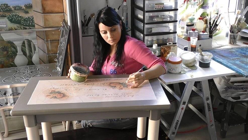 Декор мебели как хобби и увлечение