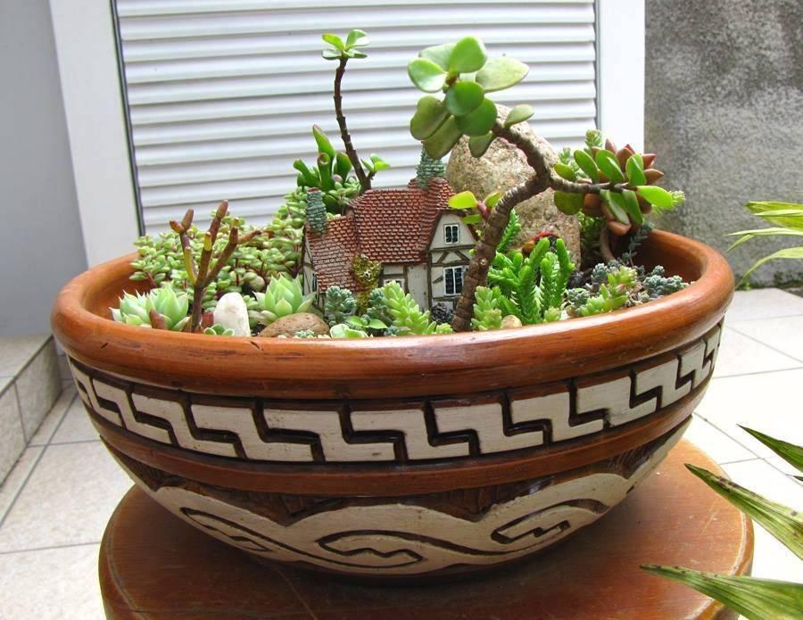 Как создать роскошный мини-сад своими руками из обычной бочки и нескольких цветов