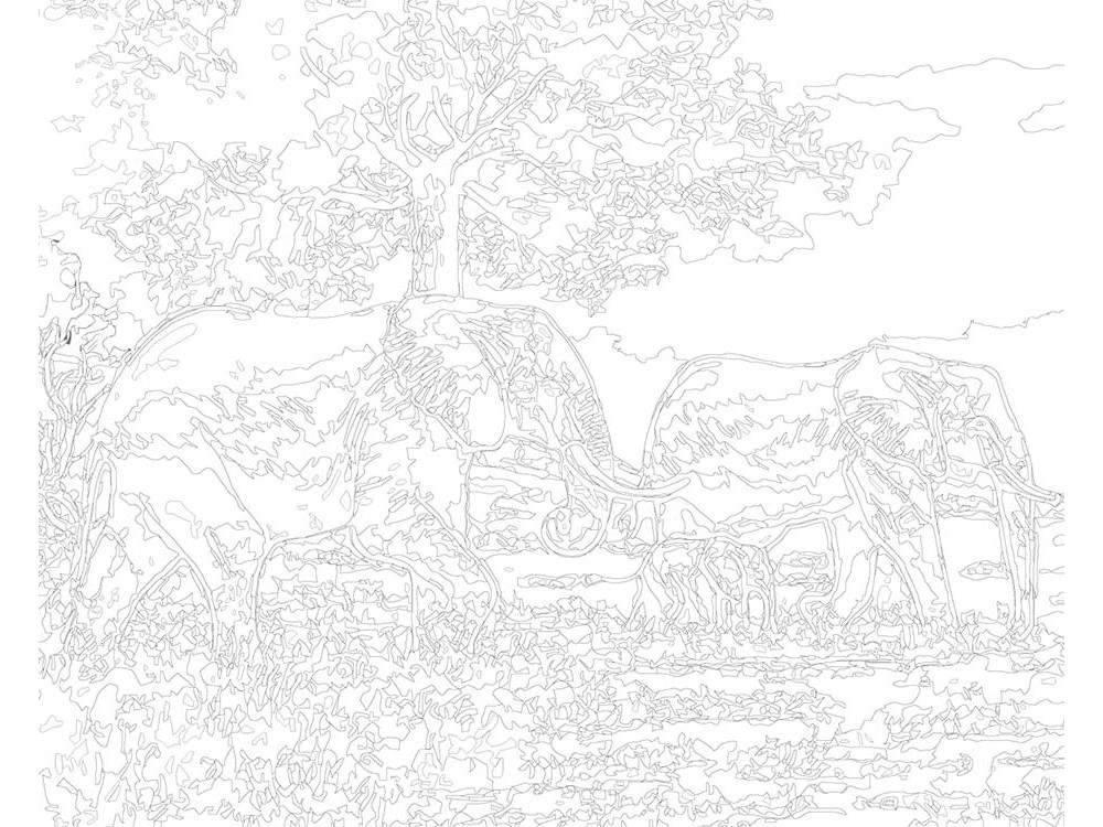 Программа «раскраска»: как быстро создать картину по номерам из любого фото