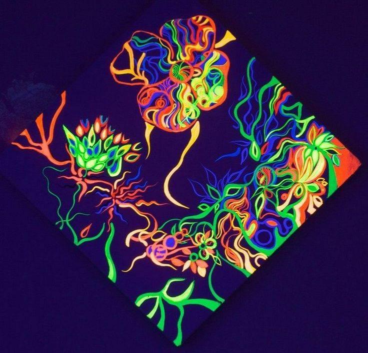 Виды и возможности флуоресцентных красок