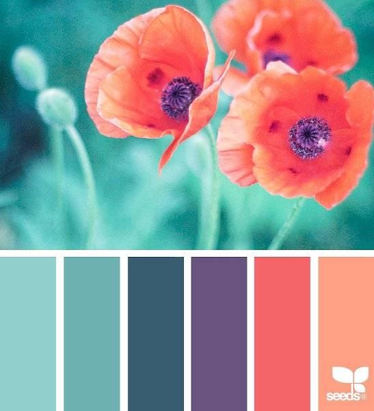 Сочетание цветов в интерьере кухни: таблица, цветовая гамма гарнитуров и правила | дизайн и фото